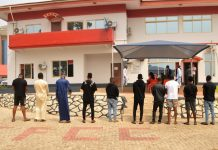 EFCC arrests 11 suspected internet fraudsters with 12 cars in Osogbo [PHOTOS]