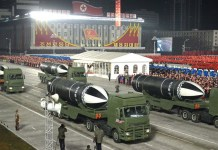 "North Korea unveils new submarine-launched missile called ""the world's most powerful weapon"""
