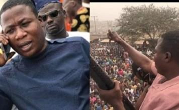 Sunday Igboho Arrives Court In Benin Republic