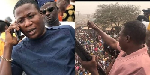 Sunday Igboho Reveals Why They Are Chasing Herdsmen Away