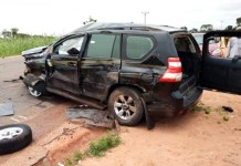 Gombe gov's convoy accident