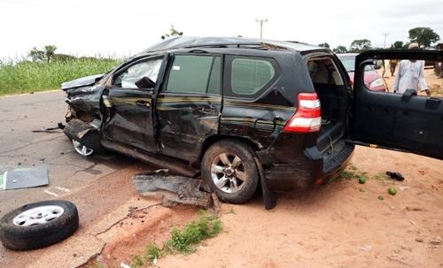 Gombe gov's convoy accident