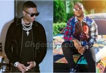 "Wizkid Rebrands Davido's Slang ""E Choke"" To ""E Don Spoil"" – Video"