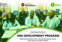 Apply for Oxfam-EDC SME Impact Program 2021 for Young Nigerian Entrepreneurs
