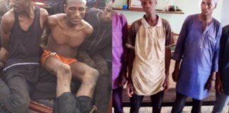 Breaking : Six Fulani Bandits Arrested With Weapons In Oyo Forest by Amotekun