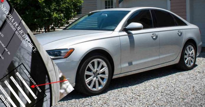 How To Apply For Tinted Permit in Nigeria