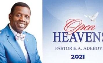 Open Heaven 6th May 2021