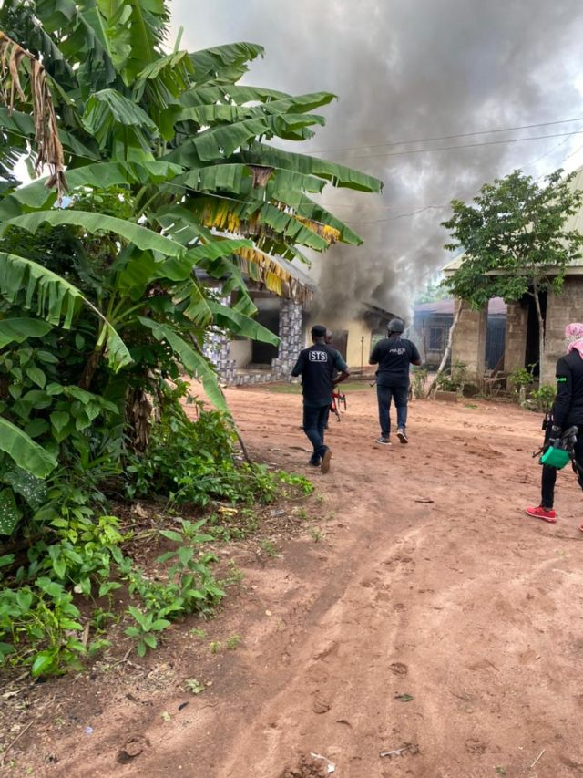 ESN camp in Imo Under Attack