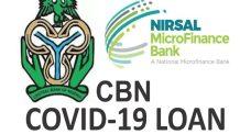 CBN Covid-19 Loan Re-Opened Portal (Apply Now)