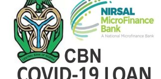 More Nigerians To Benefit From CBN COVID-19 Loan, Set to Reopen Portal – FG