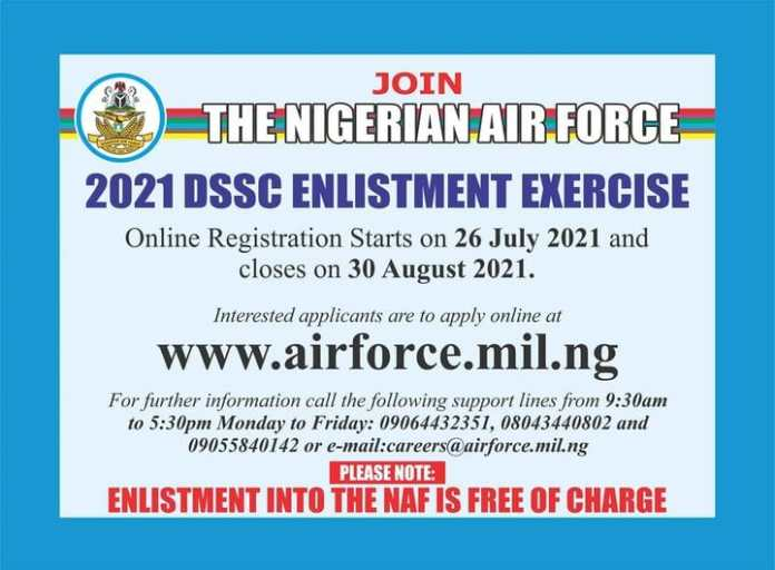 Explainer: How to Apply for Vacancies in the Nigerian Air Force