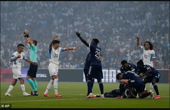 Samuel Kalu collapsed on pitch