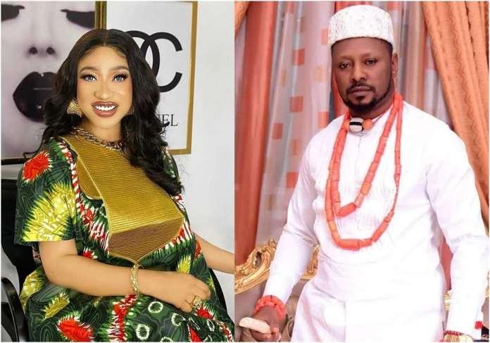 Tonto Dikeh's husband Prince Kpokpgri dragged mercilessly