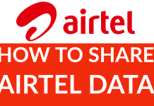How To Share Airtel Data 2021 (Simple Guide)
