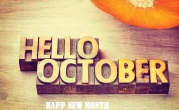 100 Happy New Month Of October Messages For Friends, Lovers & Loved Ones