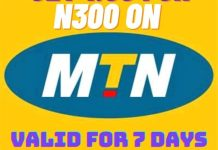How To Subscribe To MTN 1.5gb For N300 Valid For 7 Days