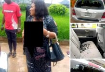 JUST IN: Popular Nigerian Female Politician Stripped Naked (PHOTOS)