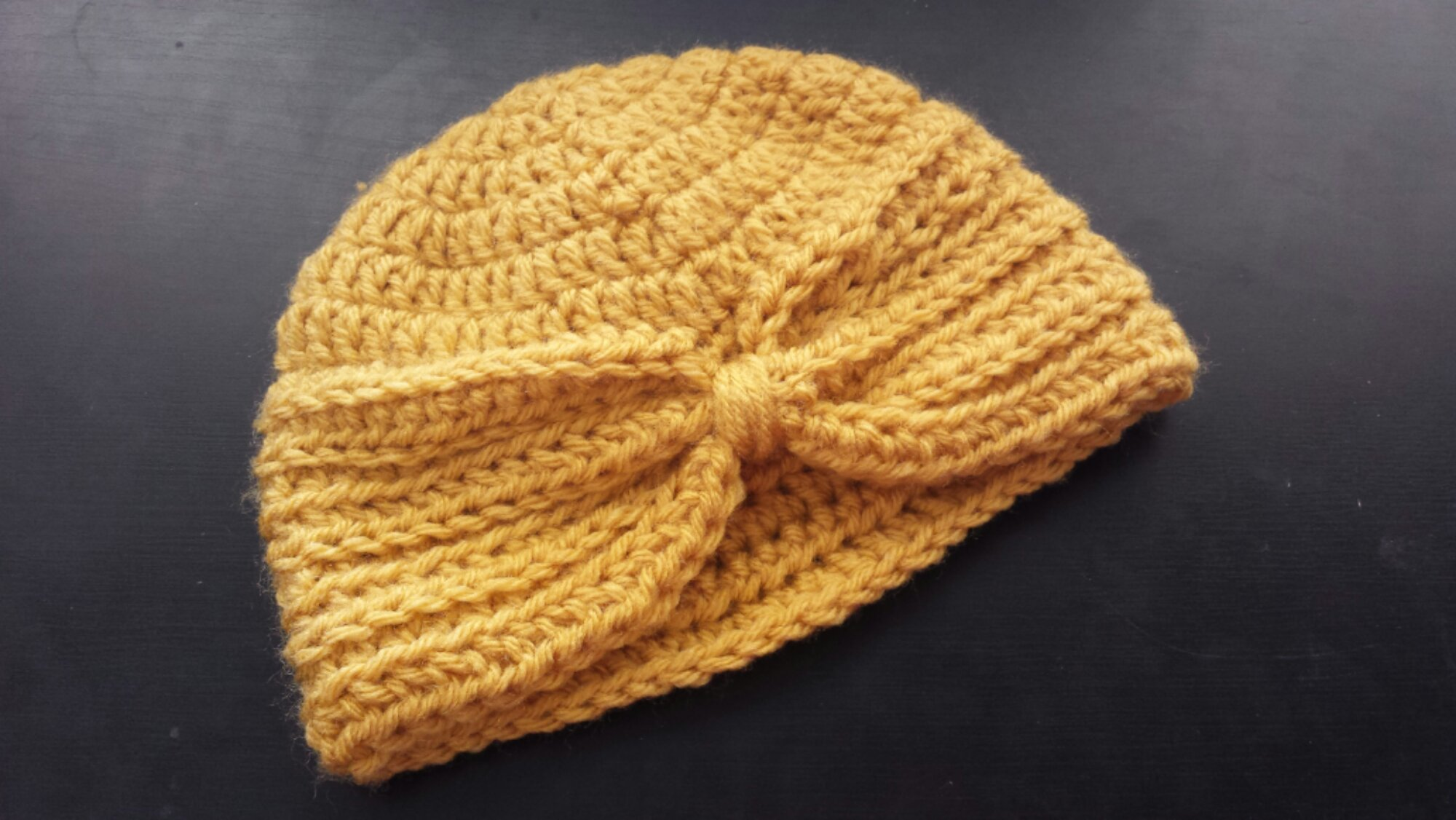 Baby turban hat and mckinley springtime hat golden rippy the baby turban hat was easy enough and its a free tutorial but i started to get confused around the time you start making the fancy rows baditri Images