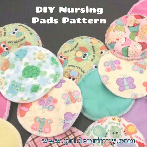 Diy Cloth Pads Tutorial: Free DIY Nursing Pads Pattern