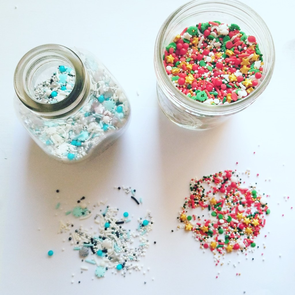 sugar cookie sprinkles and decoration