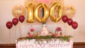 SOCIAL: Helen Well's 100th Birthday Potluck @ Silver Threads Senior Centre | Victoria | British Columbia | Canada