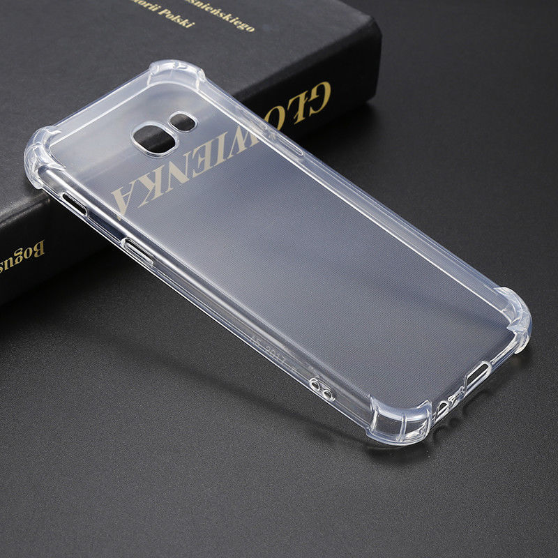 size 40 47436 8e5ae Samsung Galaxy S6 Edge Case Cover Clear ShockProof