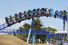 SeaWorld San Diego showed this season that roller coasters don't have to be big in order to be fun or exciting. It's new Manta ride is never more than 30 feet above ground. AT / GARY SLADE