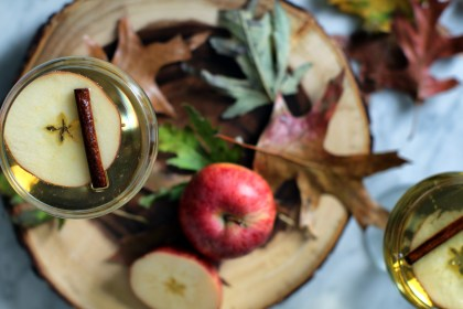 calvados, apple cider, champagne, cocktail, recipe, autumn, seasonal, brandy, punch, holiday