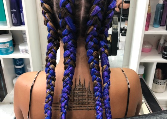 BEAUTIFUL HAIR BRAID IN PATONG