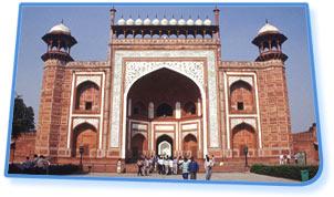 Main Gateway, Taj Mahal - Agra