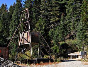 North Fork Mine - Headframe