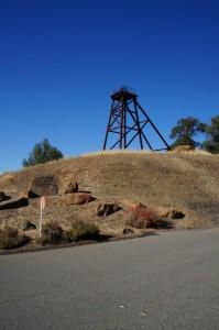 Sutter Gold Mine Headframe at Entrance