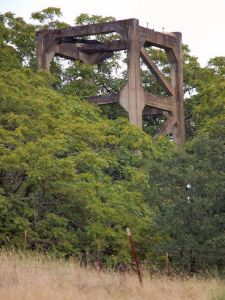 Treasure Mine Concrete Headframe