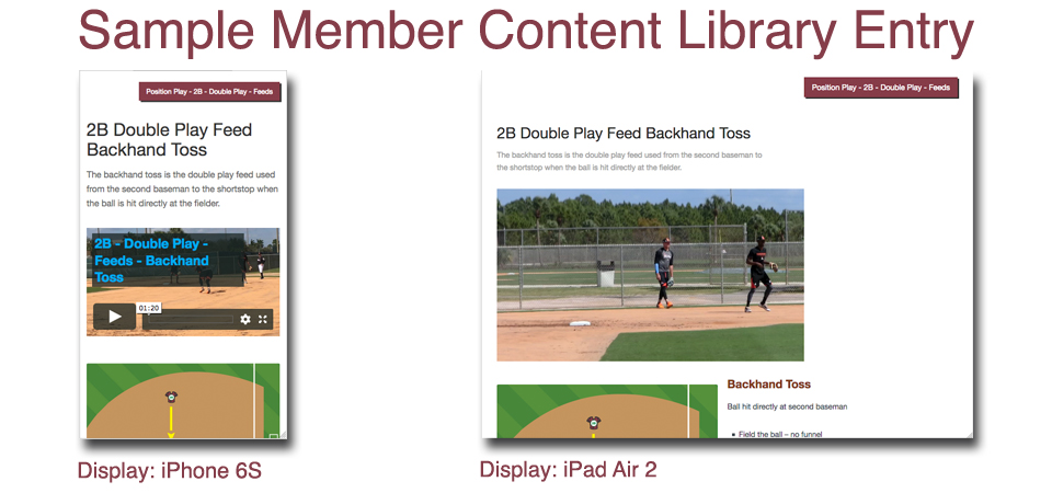 Gold Glove Defense Responsive Design Comparison