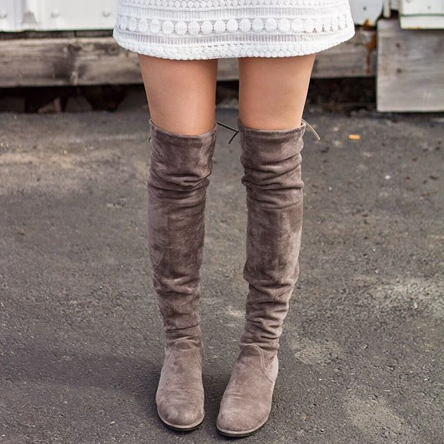 SPLURGE VS. SAVE – OVER-THE-KNEE BOOTS.