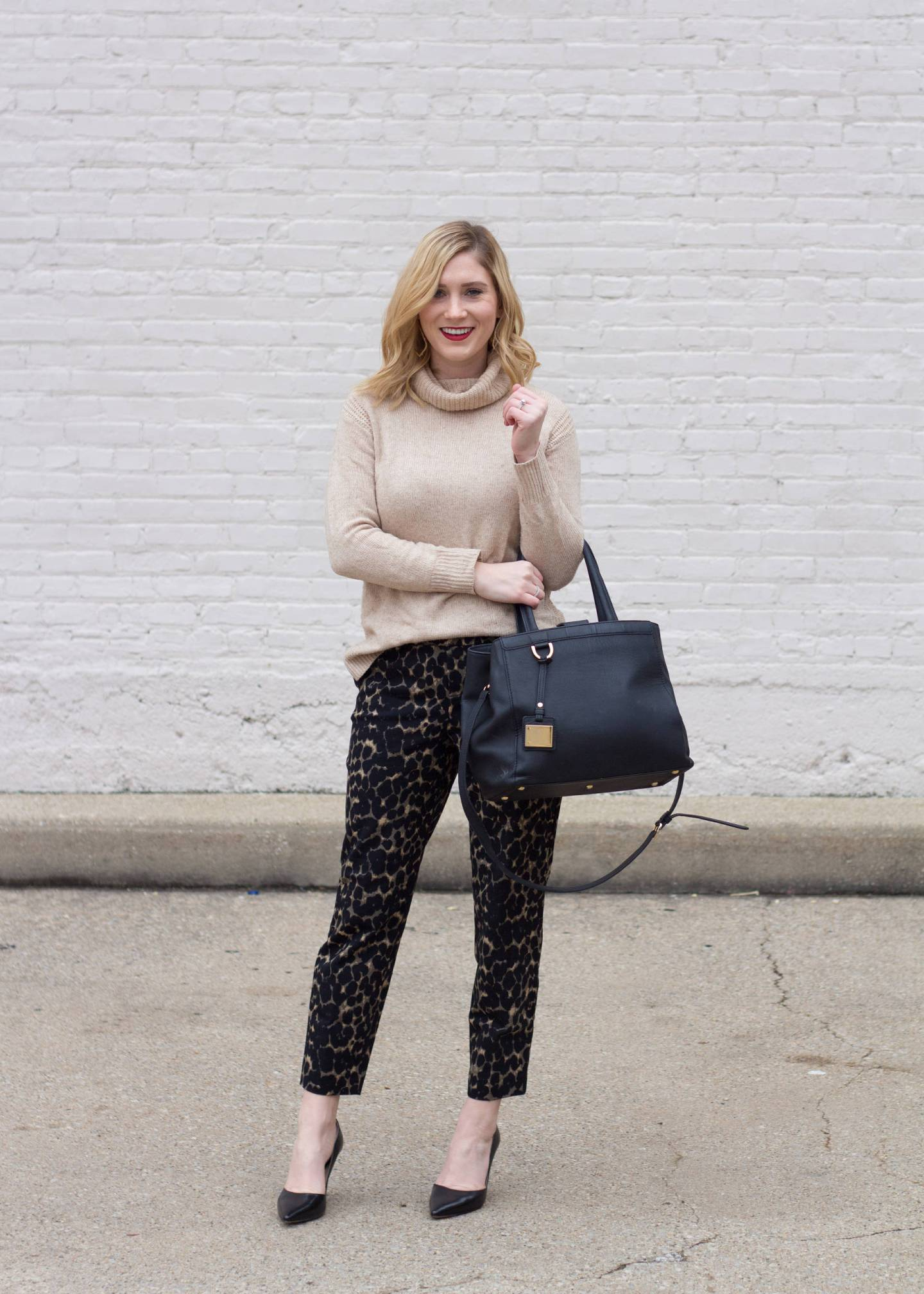 Leopard Trousers for Work and Play