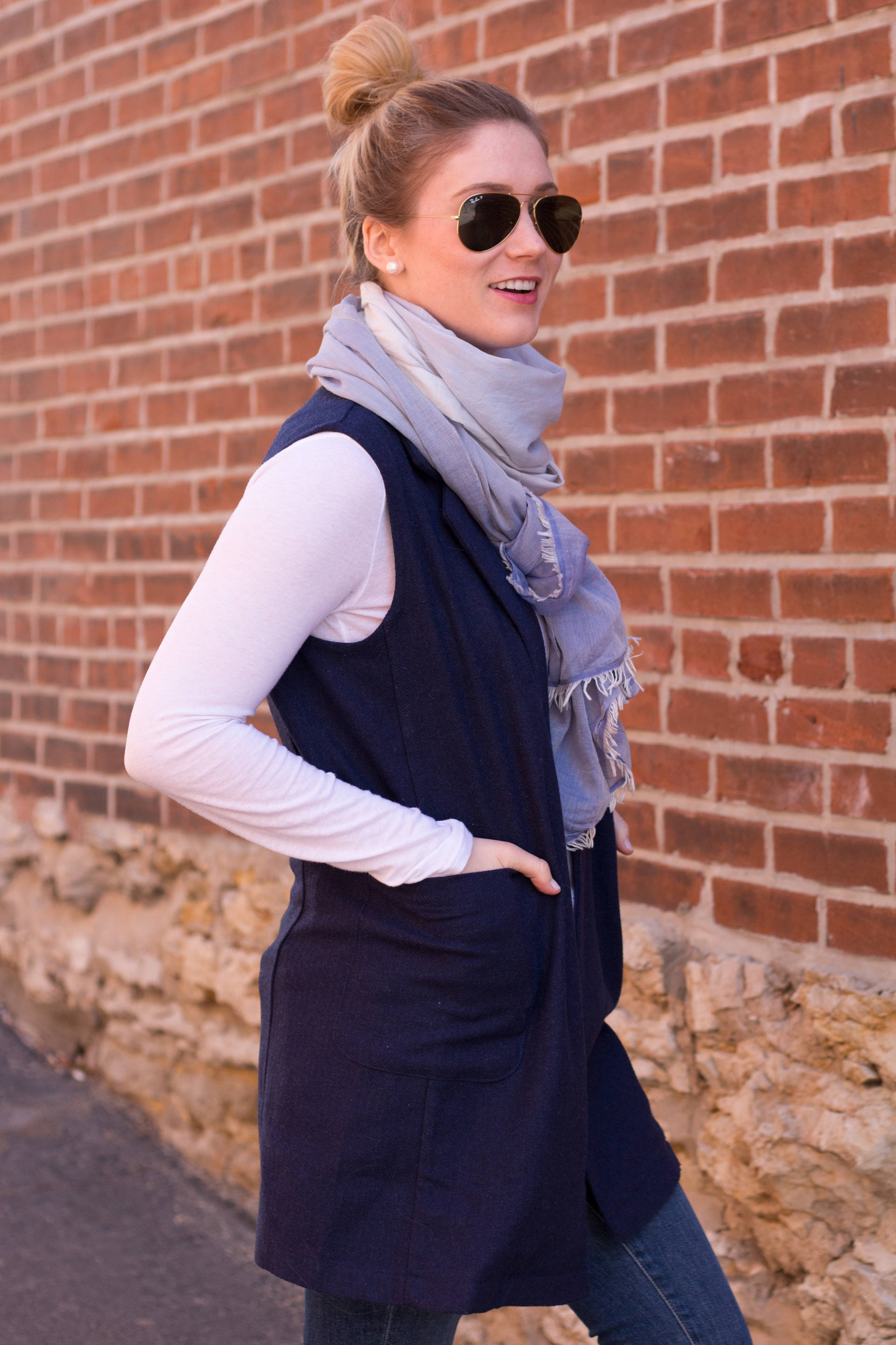 Trench Vest   Gold-Hatted Lover