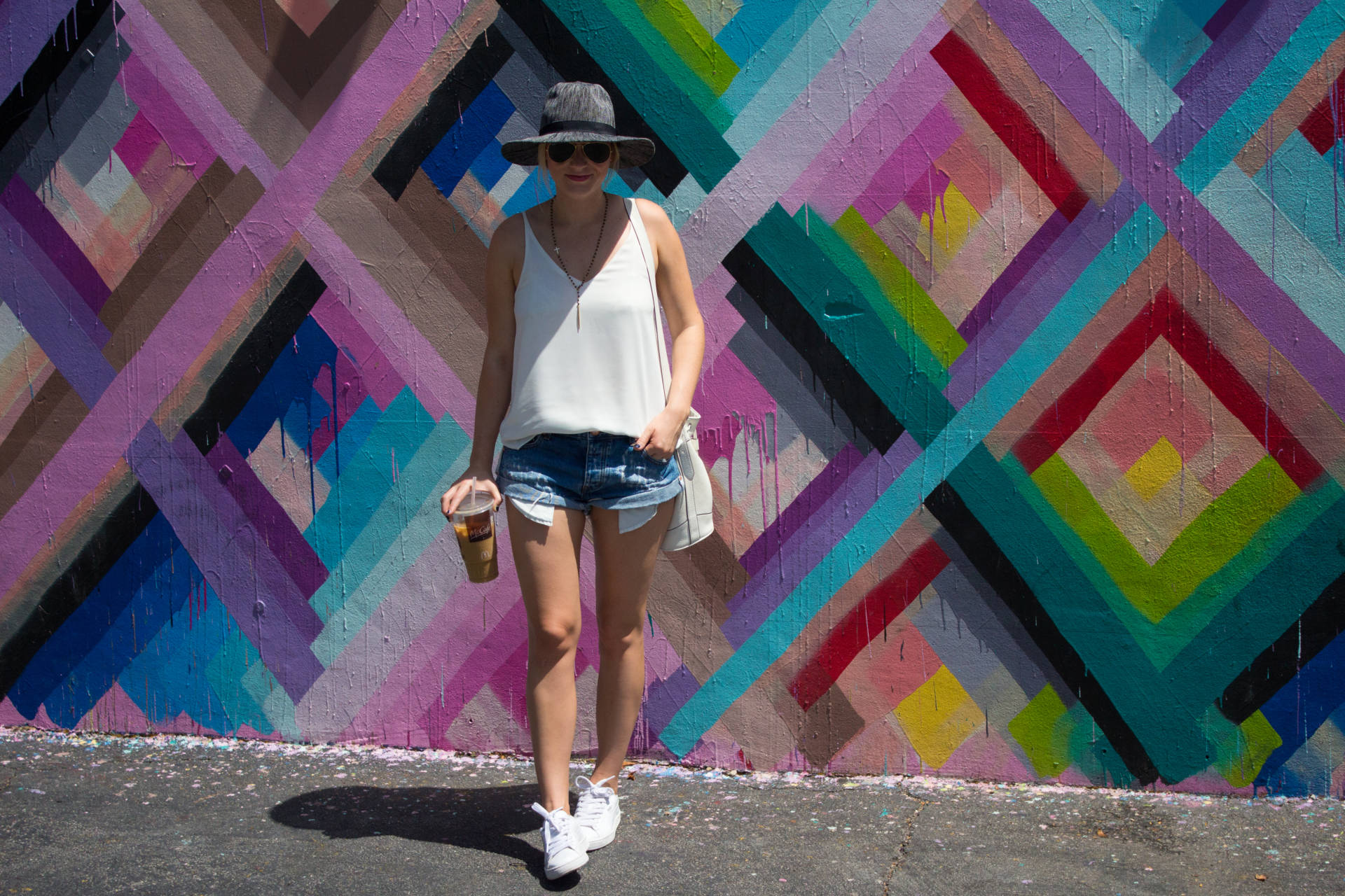 wynwood walls one teaspoon bandit shorts