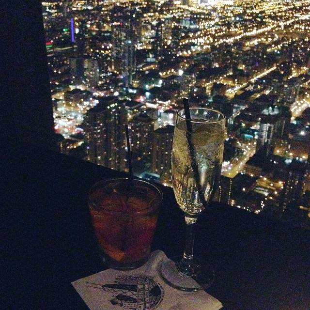 Signature Lounge Hancock Building Chicago
