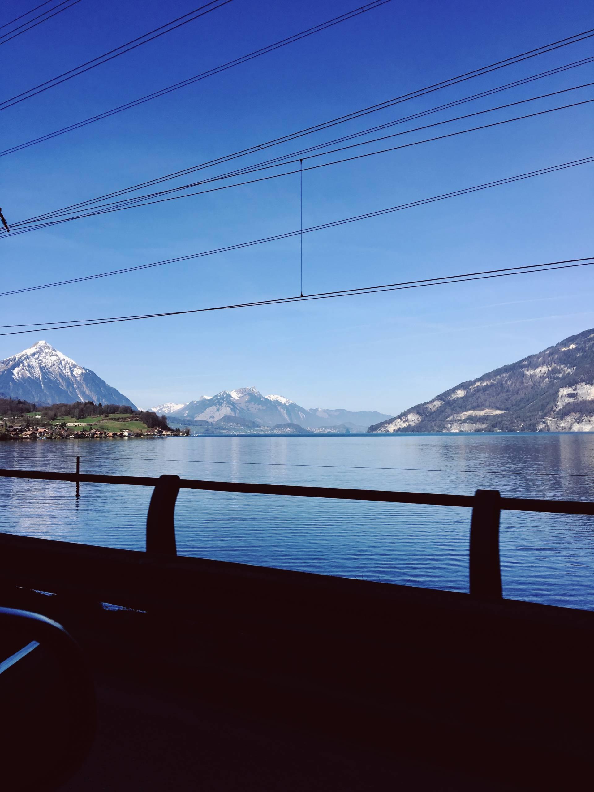 Driving around Interlaken Switzerland