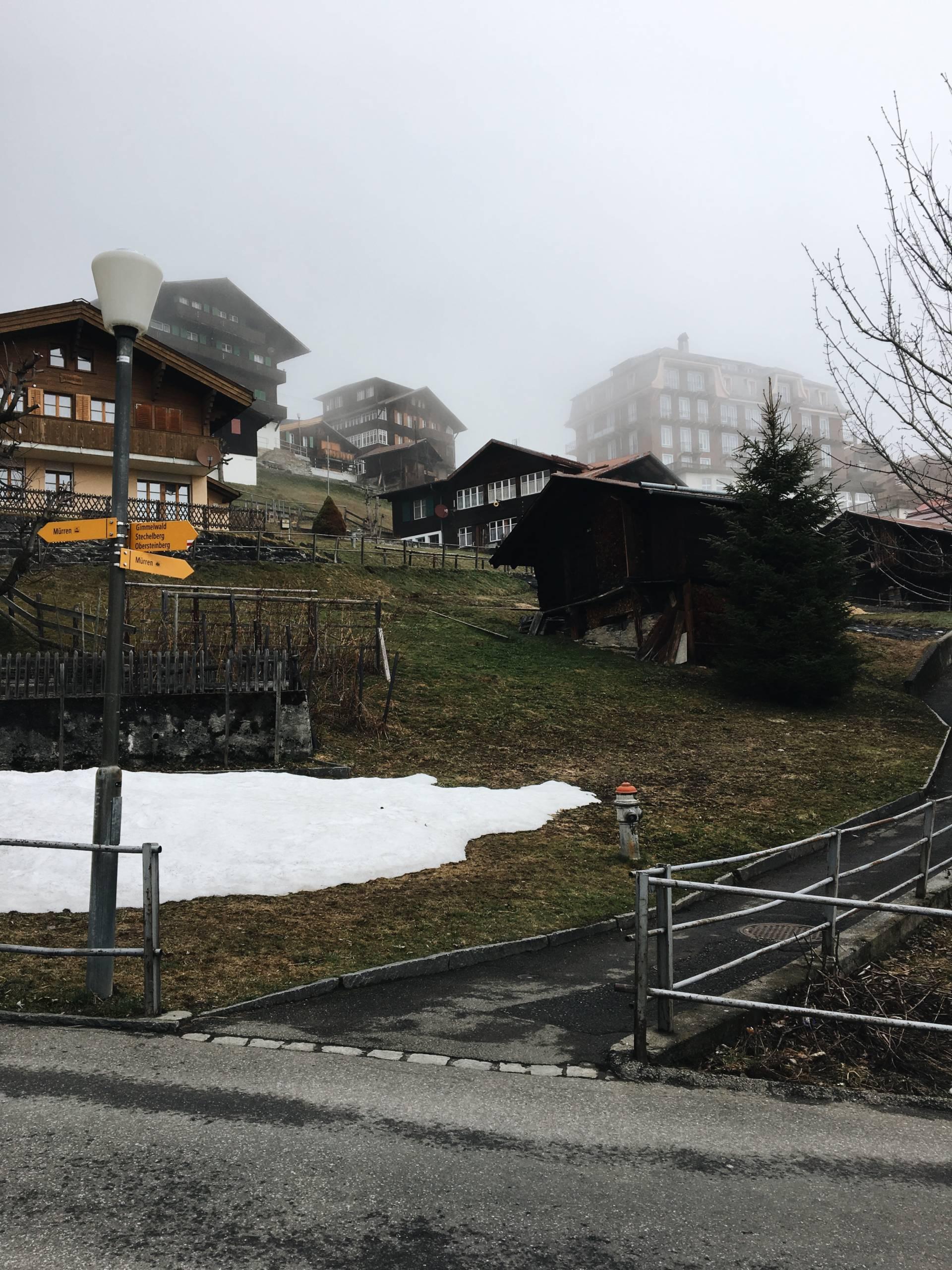 Spring in Gimmelwald Switzerland