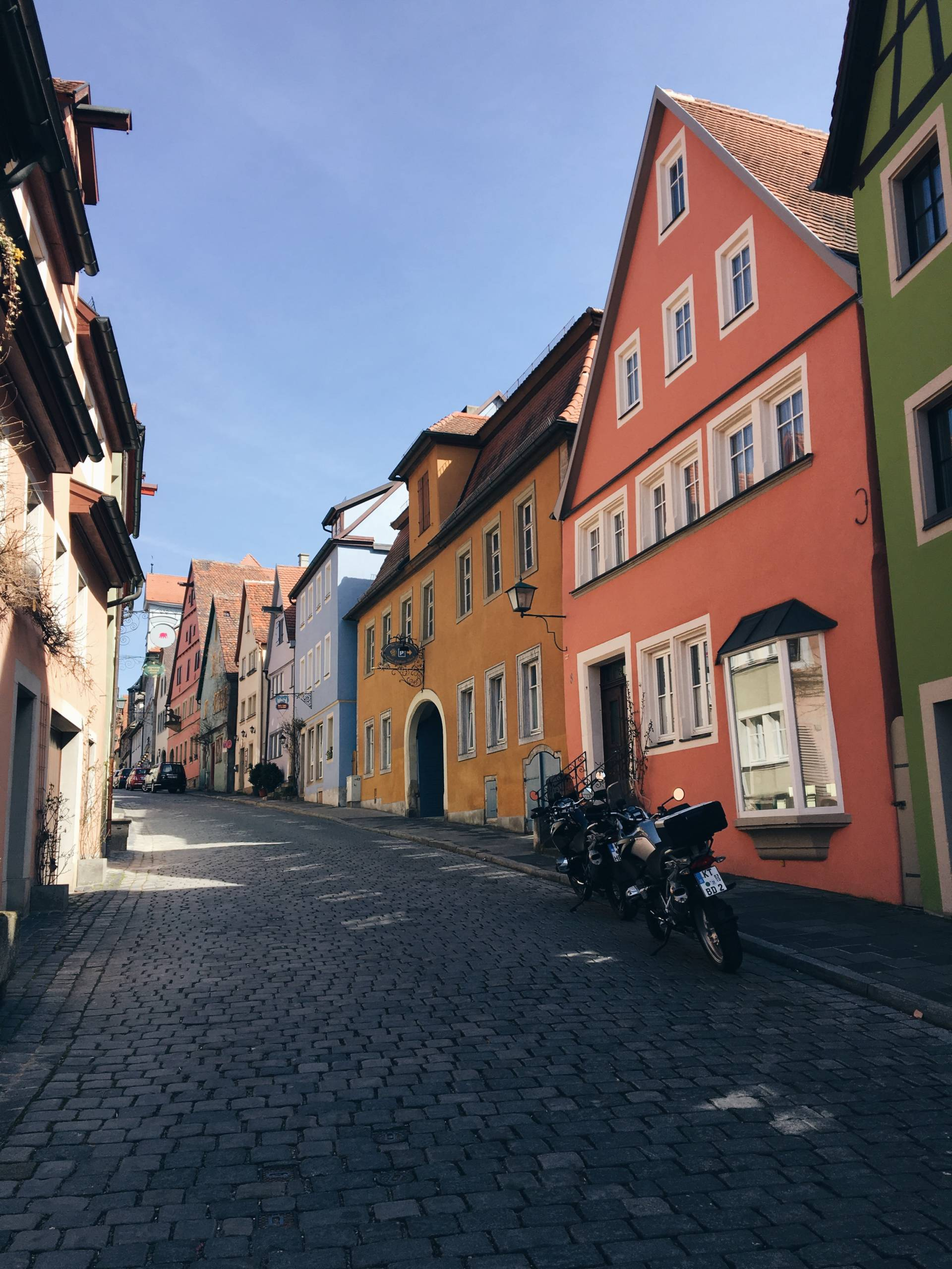 Pastel Perfection in Rothenburg Germany