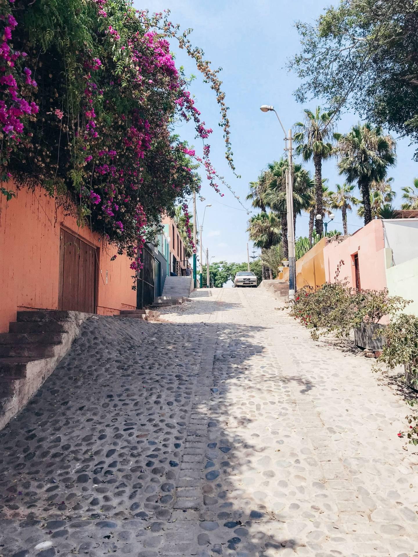 The Colorful Barranco Neighborhood in Lima, Peru
