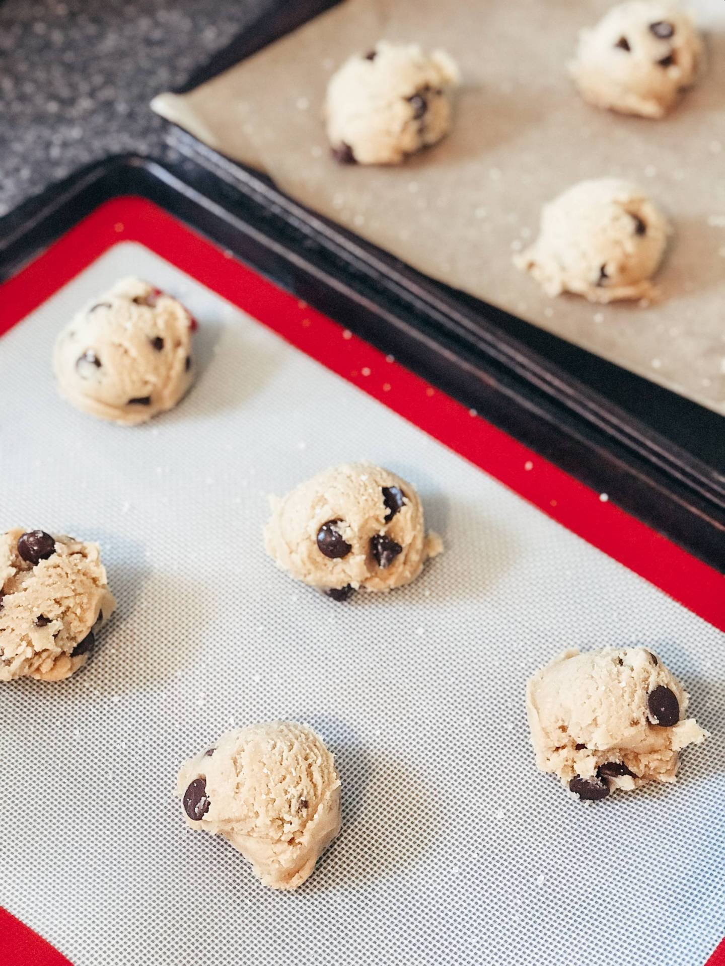 Nothing like baking up something fresh to keep busy during quarantine! These have been my go-to chocolate chip cookies for years because they are PERFECTION. With a more complex flavor profile than your typical Toll House and a larger bakery size, these are sure to impress.