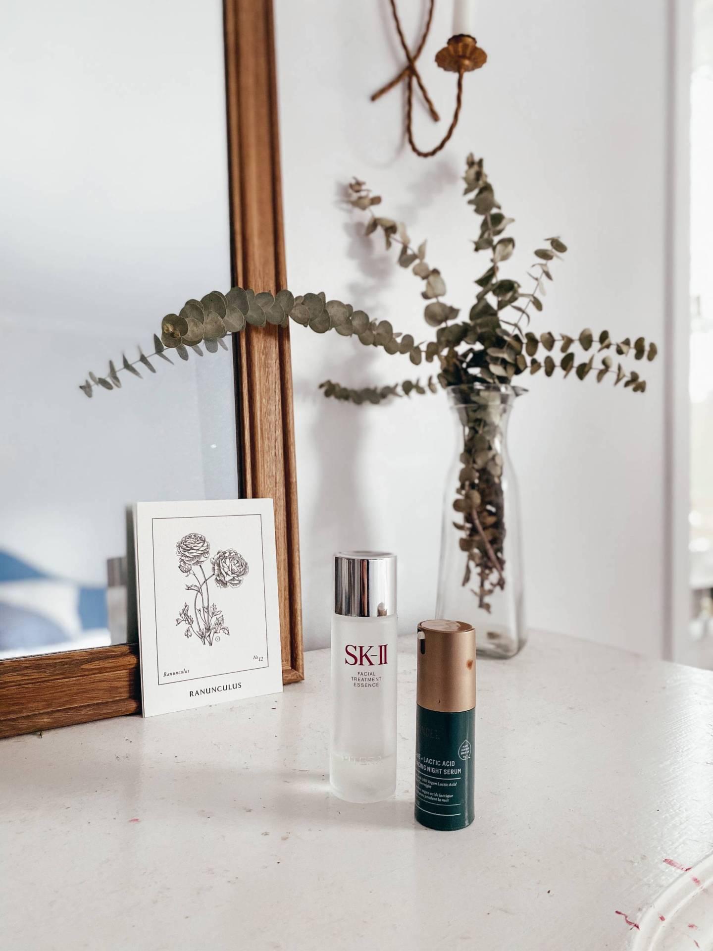 SK-II Facial Treatment Essence Review, Biossance Squalane + Lactic Acid Resurfacing Night Serum Review