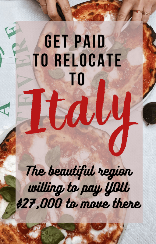 Get Paid to Move to Italy