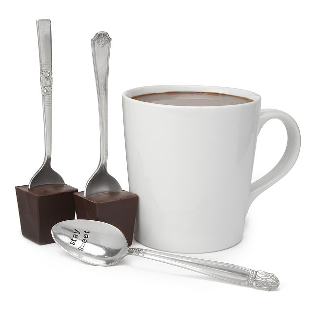 Hot Chocolate Vintage Silver Spoon