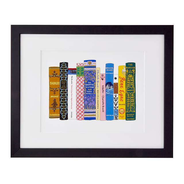 Ideal Bookshelf Art