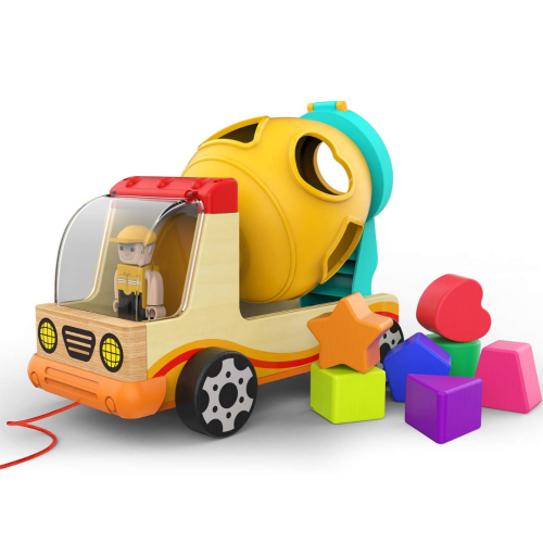 Shape Sorting Cement Mixer
