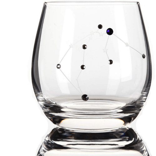 Aquarius Constellation Wine Glass - February Gift Ideas - Goldilocks Effect